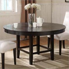 Modus Furniture 2Y2161R Bossa Round Dining Table, 54-Inch, Dark Chocolate