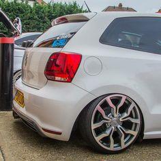 VW Polo GTI DSG 6R. #Stance #AirRide