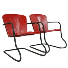 I Love Swings Gliders Rockers And Metal Chairs On