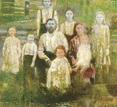 Distant descendants of Shiva, perhaps?..........Sometime around 1820, a French orphan named Martin Fugate, carrier of an incredibly rare recessive gene for a disease known as hereditary methemoglobinemia, settled on the banks of Troublesome Creek in Eastern Kentucky and married Elizabeth Smith, carrier of the same incredibly rare recessive gene. Four of the seven Fugate children were born with bright blue skin that lasted their entire lives.