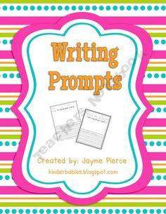 Writing Prompt Freebie : )