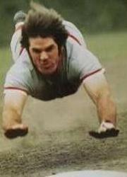 Pete Rose 1973 MVP 1975 World Series MVP