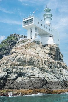 Oryukdo lighthouse 2 by Mark Kabayan on 500px
