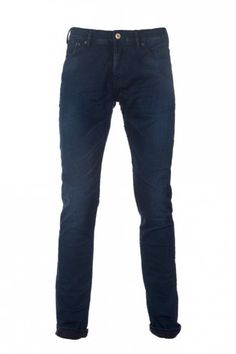 Scotch & Soda Phaidon Plus Rough Touch Jeans in Blue at Intro