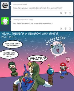 Its actually because Nintendo basically disowned her, but whatever.