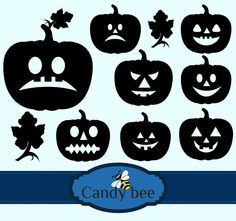 Silhouette Clip Art, Bee Design, Party Banners, Scrapbook Supplies, Buy 1, Halloween Pumpkins, Vector Design, Handmade Crafts, Paper Cutting