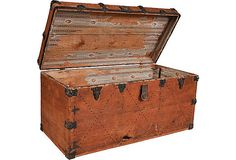 Vintage Wood Chest...great storage & sitting space -one for every bedroom.
