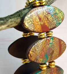 Image result for charleston clay jewelry raku crackle jewelry