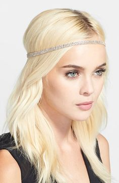 Cara 'Strand of Crystal' Head Wrap available at #Nordstrom