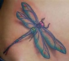 Foot Dragonfly Tattoo For Girls