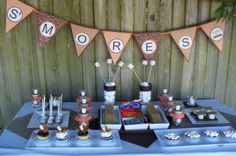 S'morelicious Summer - Party Planning - Party Ideas - Cute Food - Holiday Ideas -Tablescapes - Special Occasions And Events - Party Pinching