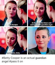 Betty cooper = angel