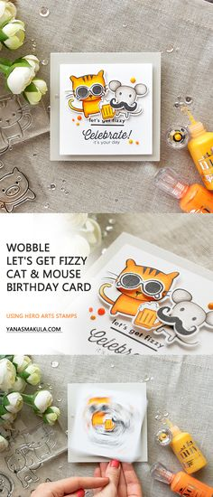 289 Best Cards With Animals Images On Pinterest In 2018 Cute Cards