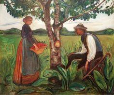 Edvard Munch - Fertility, 1899-1900
