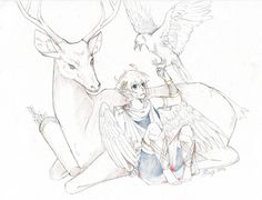 My First Art Assignment YAY by Syruubi.deviantart.com on @DeviantArt