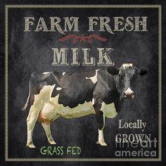 Vintage Farm, Vintage Diy, Vintage Labels, Vintage Signs, Images Vintage, Vintage Pictures, Shabby, Farm Art, Cow Art