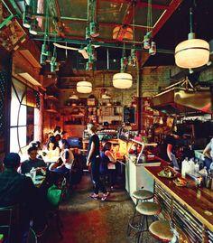 Hanmoto Restaurant   DUNDAS WEST: 2 Lakeview Ave.   Asian Street Food   3-star review in Toronto Life. Fav of Toronto Star, Globe + BlogTO too