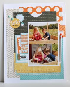Image result for 8.5x11 scrapbook templates