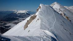 Palena (Chieti -Abruzzo)   Cresta di Monte Porrara