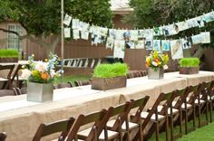 Simple outdoor wedding. The whole thing is just amazing!