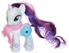 My Little Pony Фигурка Пони Rarity с волшебной картинкой