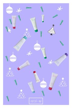 Christmas Wallpaper 🎄real-u style How To Clear Pimples, Acne Prone Skin, Christmas Wallpaper, Moisturiser, Skin Problems, Sensitive Skin, Your Skin, Lotion, Skin Care