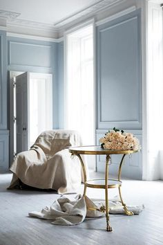 soft blue ... Ralph Lauren Home