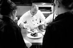 Head Chef Simon in action