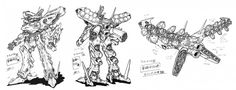 The White Glint from Armored Core For Answer, one of the later games in the Armored Core series.