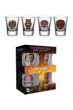 Supernatural Mix Shot Glasses