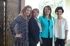 Gaby Vargas recibe a Margarita Zavala y Ana de la Reguera para el estreno de `Alivio´
