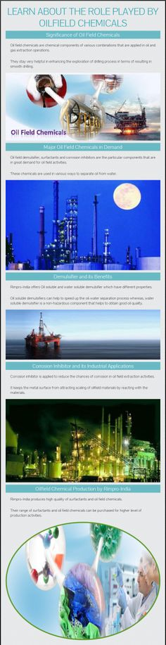 Learn about the Role Played by Oilfield Chemicals - www.rimpro-india.com
