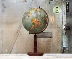 Gorgeous globe via Dusty Deco