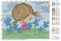 Casulo By Carlasb Gráfico Children In Cross Stitch