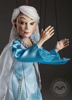 Calven White-haired Elf by Czech Marionettes