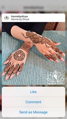 Mehndi Design Pictures, Bridal Henna, Henna Artist, Mehandi Designs, Henna Patterns, Mehendi, Henna Ideas, Hennas, Henna Tattoos