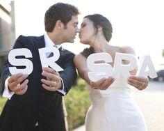 Decora con letras en tu boda #boda #ideas