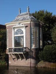 Middelburg, theehuisje.