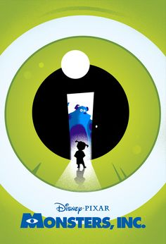 Disney Pixar Posters - Created by Laz Marquez