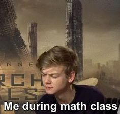 Animated gif discovered by Find images and videos about funny, newt and math on We Heart It - the app to get lost in what you love. Maze Runner Thomas, Newt Maze Runner, Newt Thomas, Maze Runner Funny, Maze Runner Movie, Maze Runner Series, Haha, School Memes, Thomas Brodie Sangster