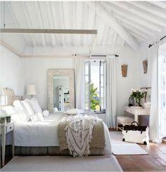Dormitorio moderno cálido