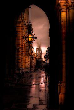 A Rainy Night at Vienna - Photo Eugene Madatov