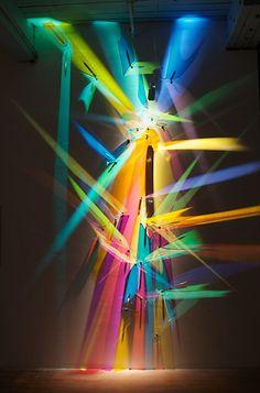 "Lightpainting - ""Glissade"" by Stephen Knapp"