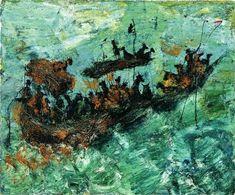 Miquel Barceló: The African Work Pablo Picasso Cubism, Art Espagnole, Miquel Barcelo, Spanish Art, Spanish Painters, Art Station, Coastal Art, Sculpture, Museum Of Modern Art