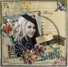 Fabulous graduation layout  http://www.acherryontop.com/gallery/view/scrapbook_layouts/109482?sr=103
