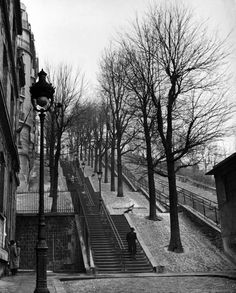 Montemartre. Paris, France. 1946