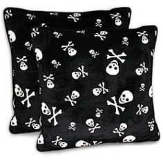 Got this skull pillow at TJ Maxx for a total steal!