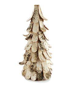 DIY inspiration-White Birch Tree Figurine