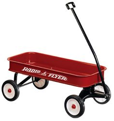 Ahhh, the red wagon