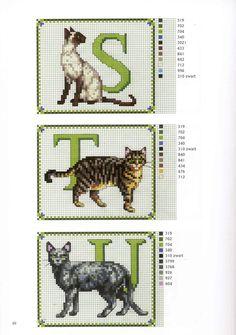 Cat Alphabet ♡ネコ 7